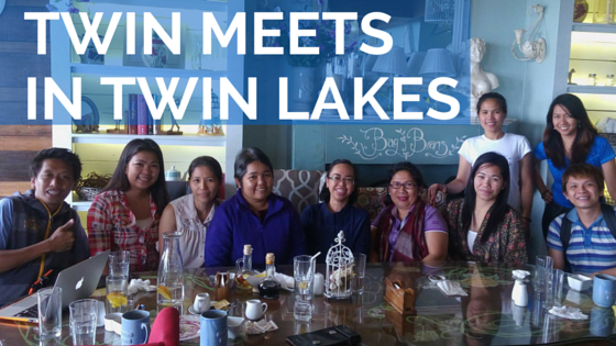 Twin Meets in Twin Lakes