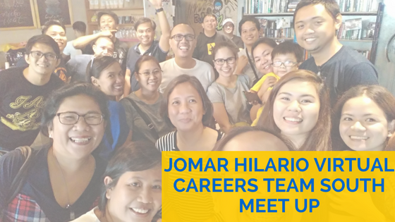 Team South Represent Jomar Hilario Virtual Careers Team South Meet Up