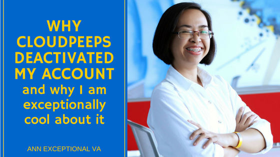Why CloudPeeps deactivated my account – and why I am exceptionally cool about it