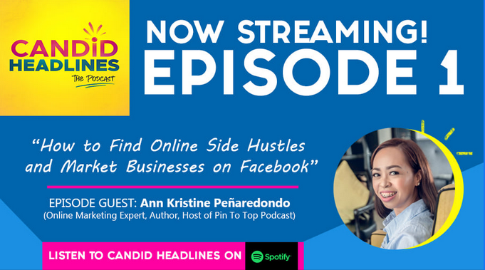 Ann Kristine_Candid Headline The Podcast